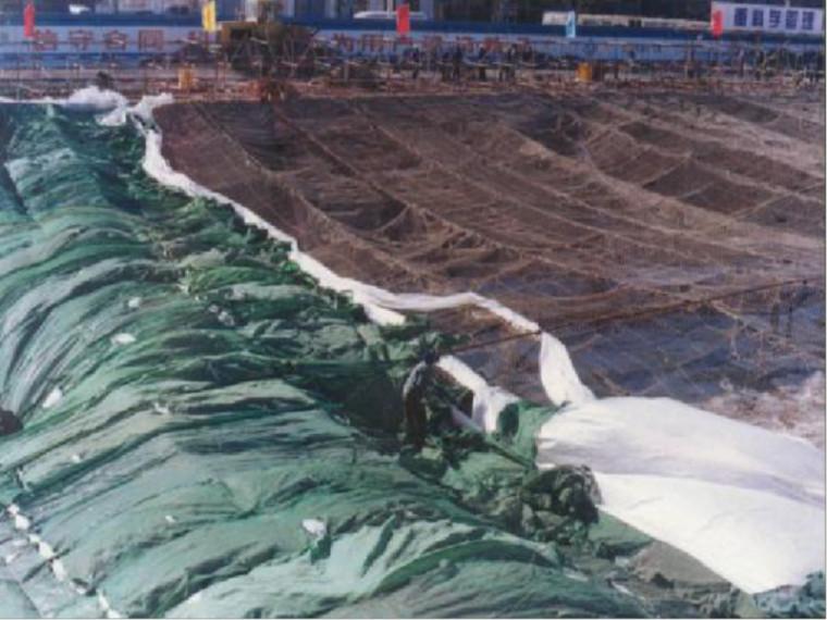 混凝土工程冬季施工方案-PPT课件-基坑暖棚2