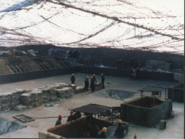 混凝土工程冬季施工方案-PPT课件-基坑暖棚