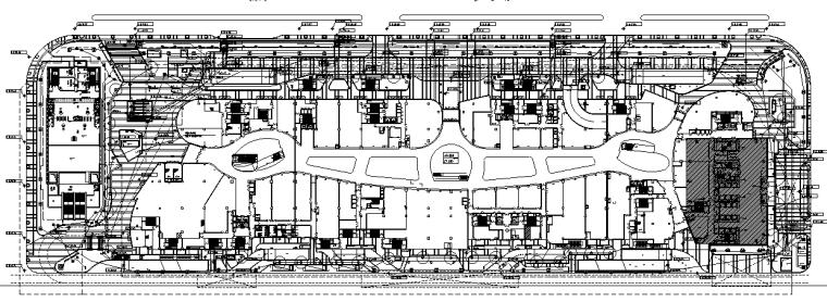 安徽合肥商业购物中心室外景观水电施工图