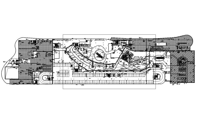 合肥商业购物中心室外景观水电施工图