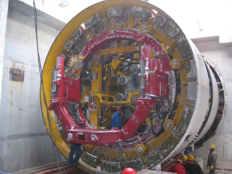 盾构法施工特点、施工工艺流程与质量控制