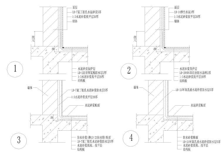 《建筑防水工程技术规程》图集