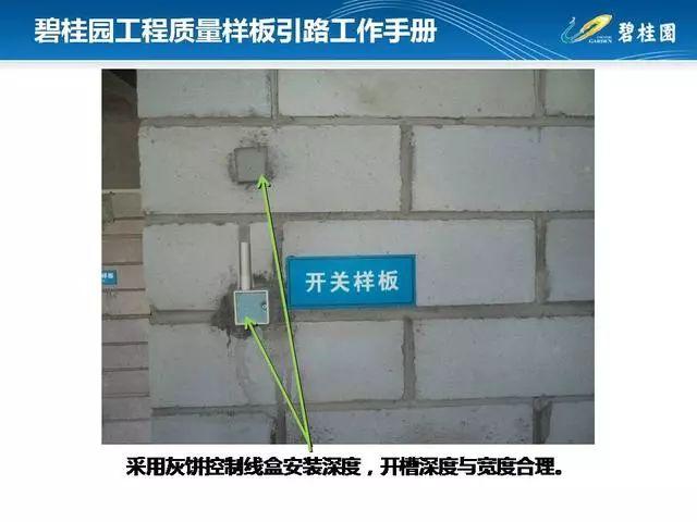 碧桂园工程质量样板引路工作手册,快收藏吧_118