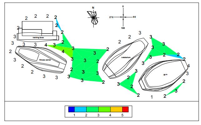 行人高度风环境试验及评估分析报告