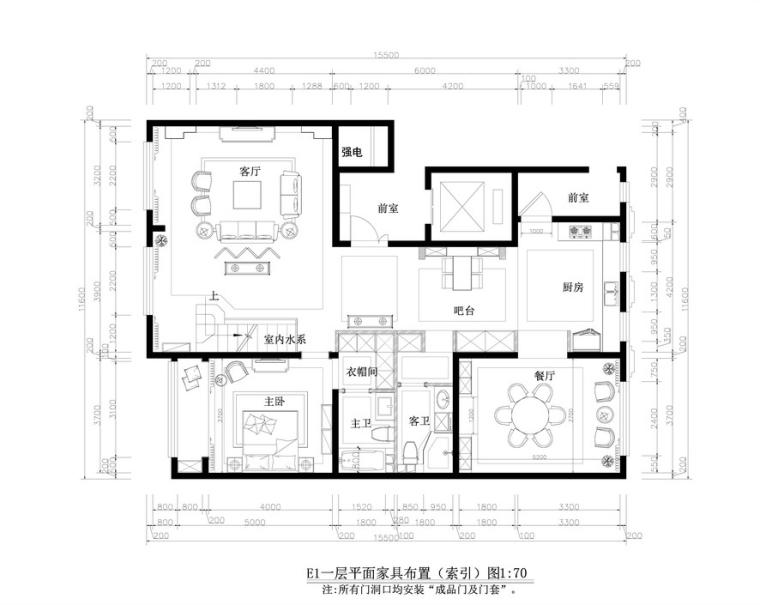 [内蒙古]凤波-呼和浩特E1社区施工图+实景图