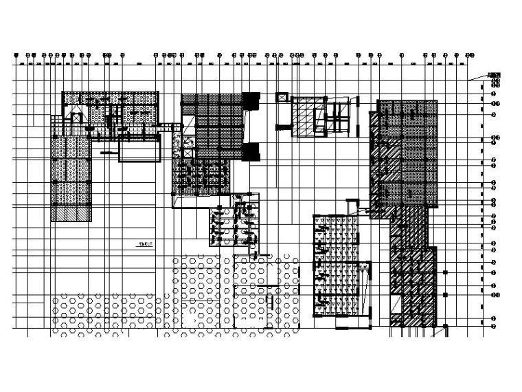 6栋低层框架结构商业楼建筑结构施工图2016