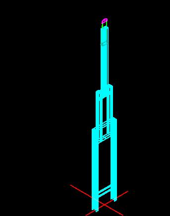 33钢柱吊装图