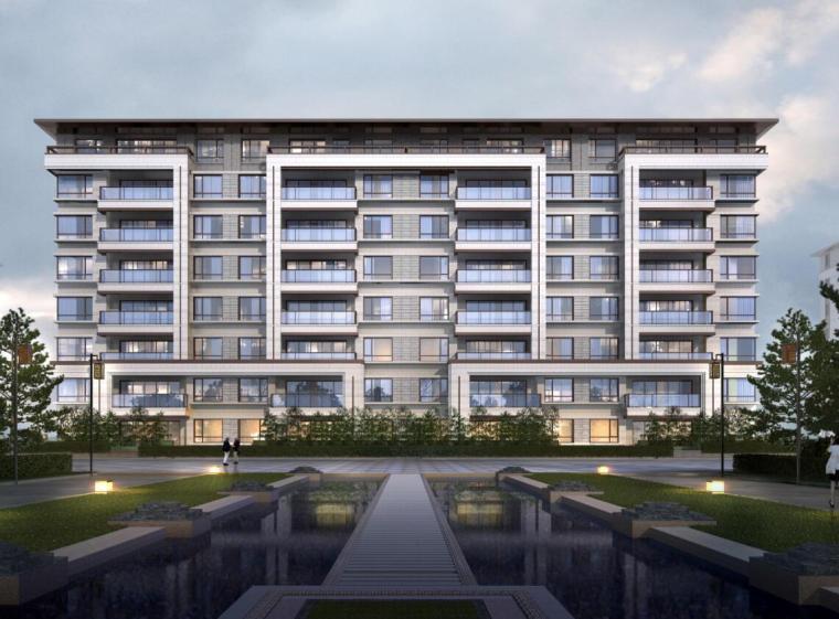 [吉林]新中式风格住宅建筑方案设计