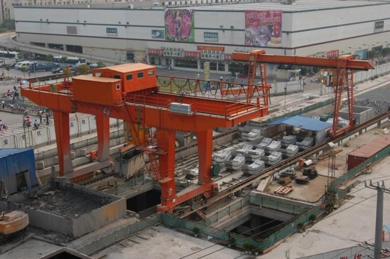地铁区间盾构施工工艺及复合地层掘进技术