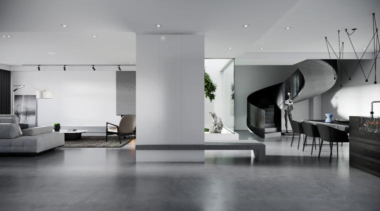 34套极简风格住宅装修案例