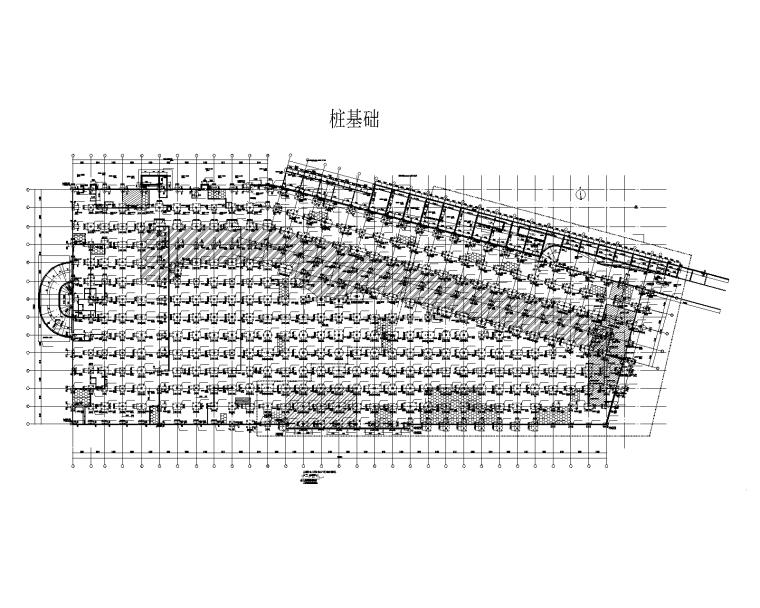 [益阳]知名商业广场建筑结构施工图(2015)