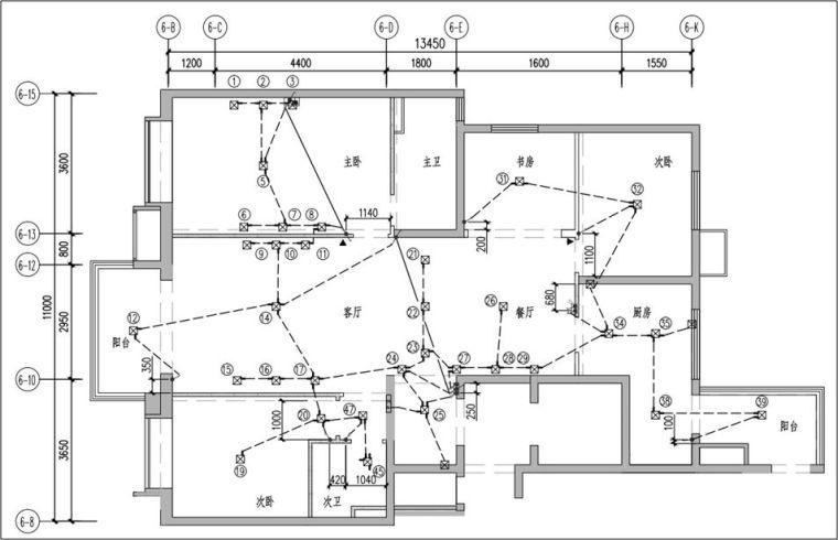 机电安装精细化施工(铝模、钢支撑木模下)