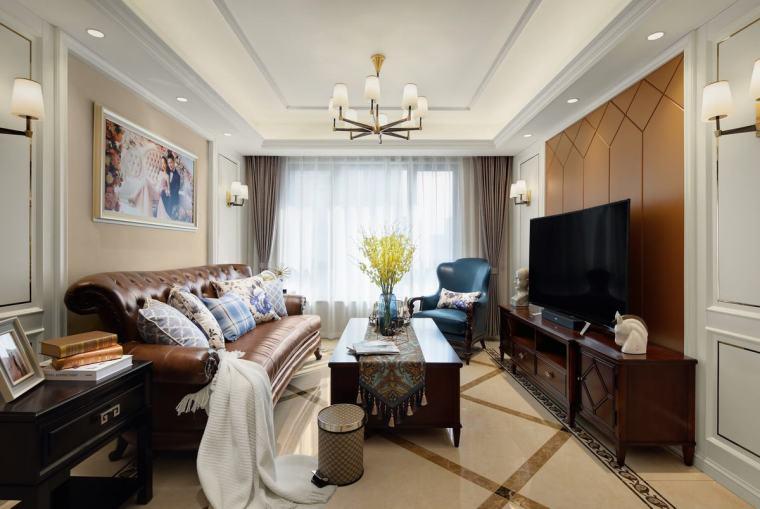 77套美式风格住宅设计高清效果图合集(4)