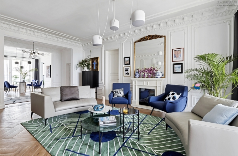 28套法式风格住宅装修案例