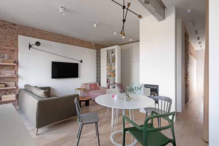 70套混搭风格住宅装修案例(1)