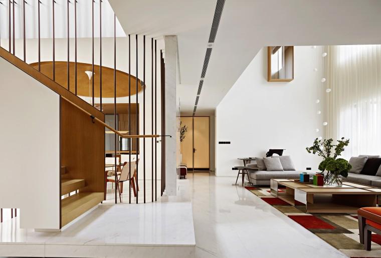 复式别墅室内设计案例效果图合集81套(6)
