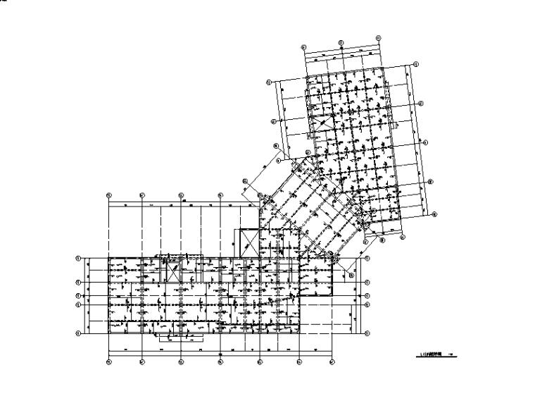 2层框架结构办公楼(售楼处)建筑结构施工图