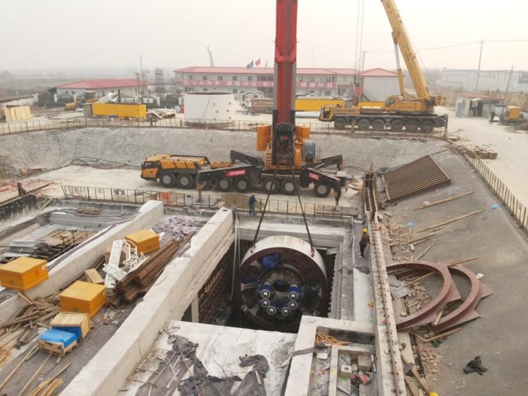 盾构法隧道施工施工工艺及工程实例