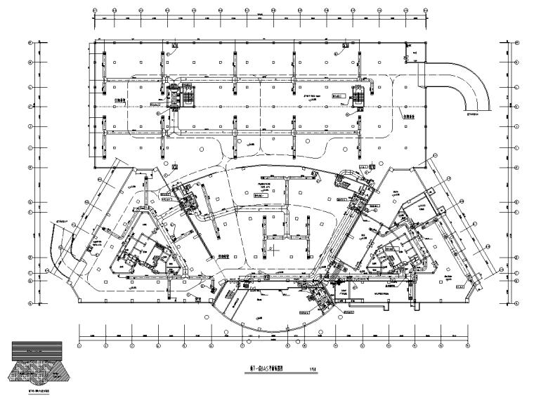 广西大型综合办公楼弱电智能化施工图
