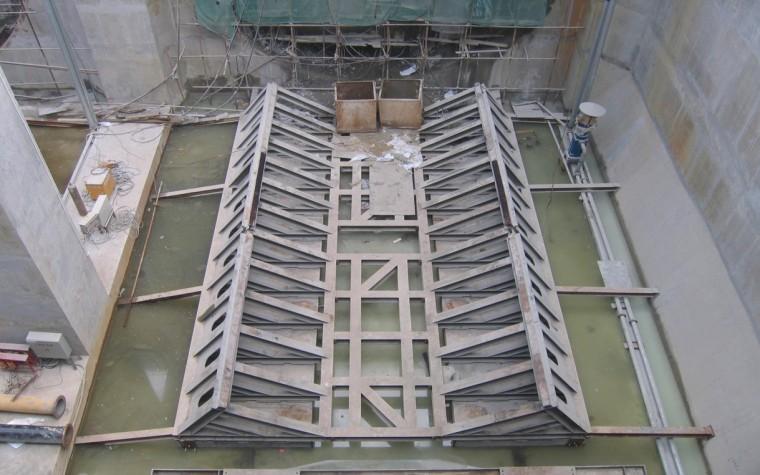 盾构始发、到达、过站及调头等施工技术