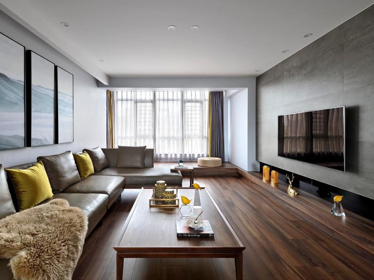 福州现代复式风格的居住空间