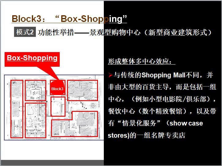 功能性举措——景观型购物中心