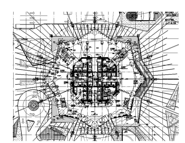 四川101层五星酒店综合楼暖通施工图
