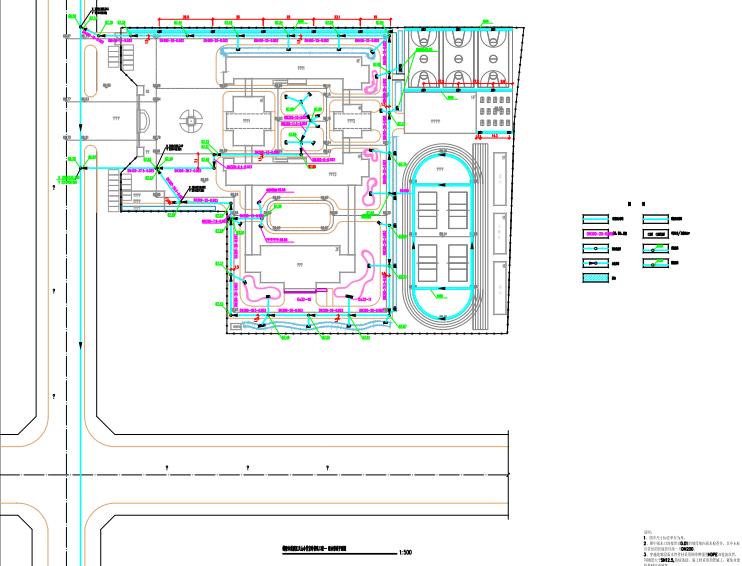 [河南]鹤壁市某学校海绵城市设计方案