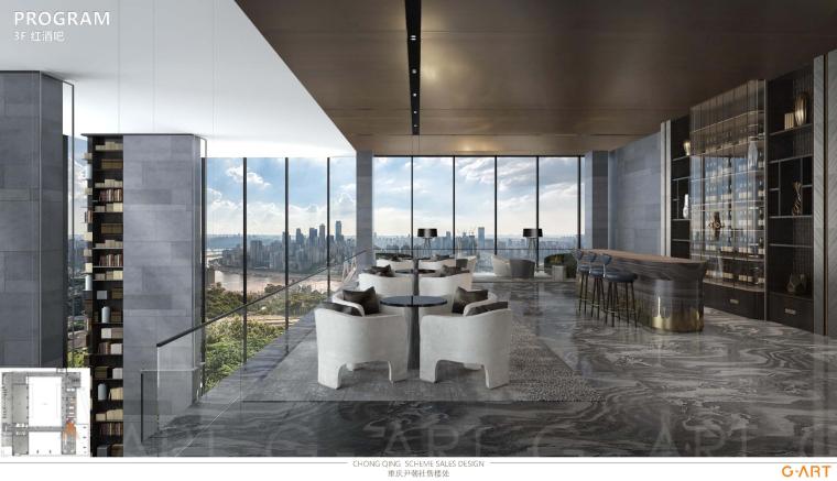 中国重庆印江州售楼处设计方案+官方摄影