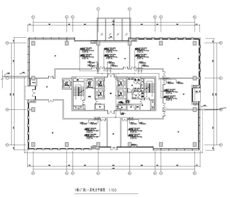 广东工业区厂房及配套公建电气施工图