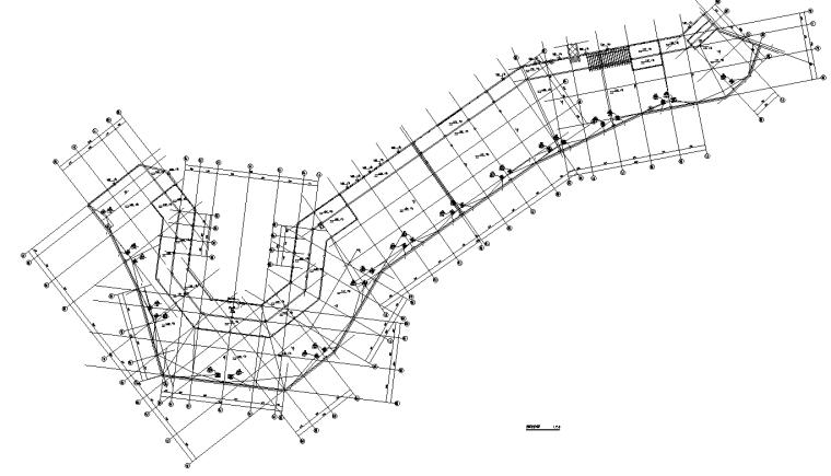 屋顶层动力平面图