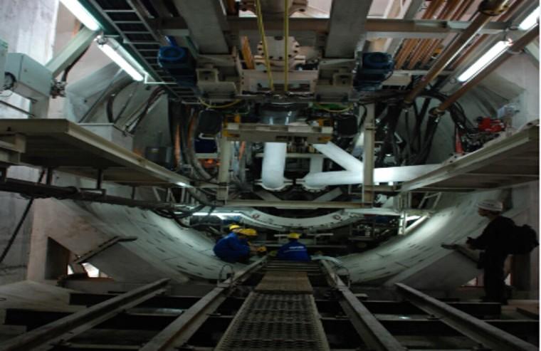 盾构施工工艺流程及重大工艺简介