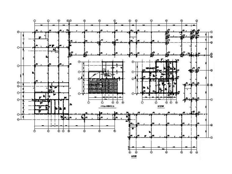 3层钢混框架结构幼儿园结构施工图(2019.7)