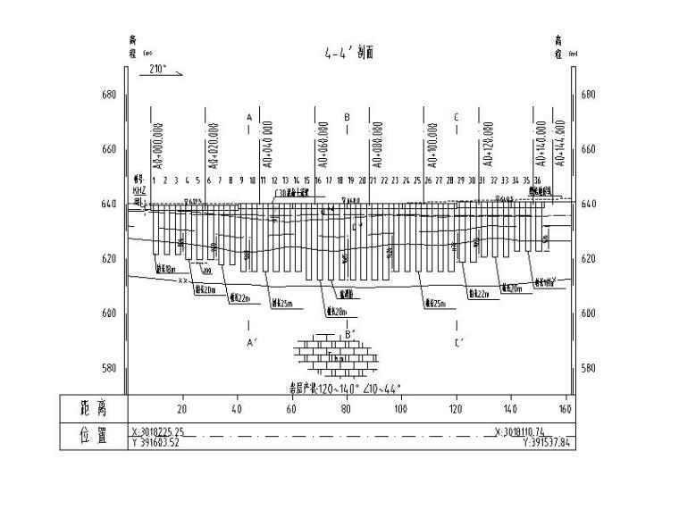 滑坡防治工程施工图(含招标文件,2018)