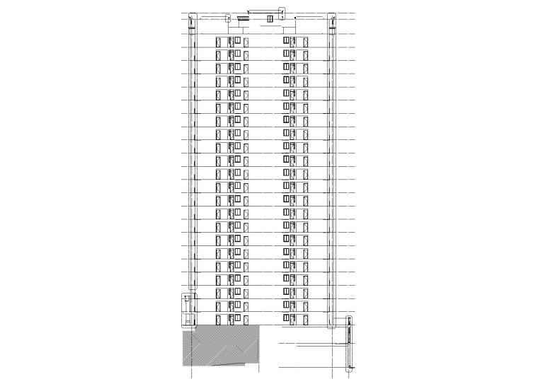 9#楼1-1剖面图