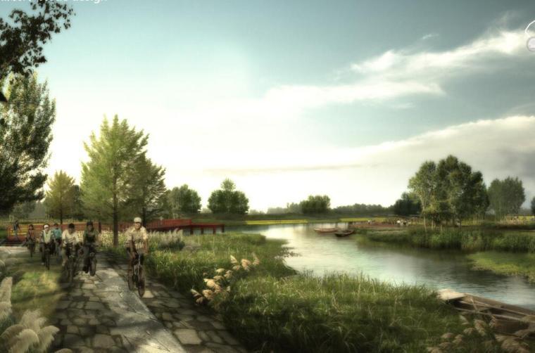 [江苏]双山岛水系景观概念方案设计