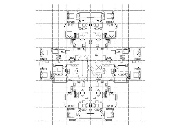 9#二十二层平面图