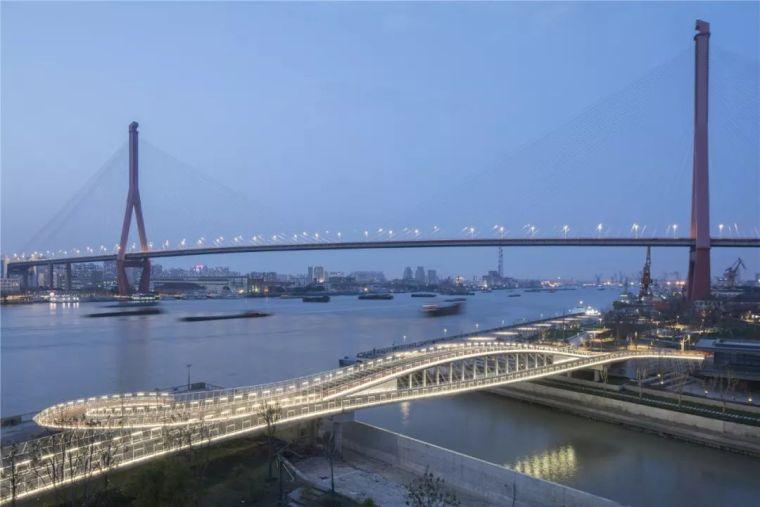 新作|慧泓之弓:洋泾港步行桥_22