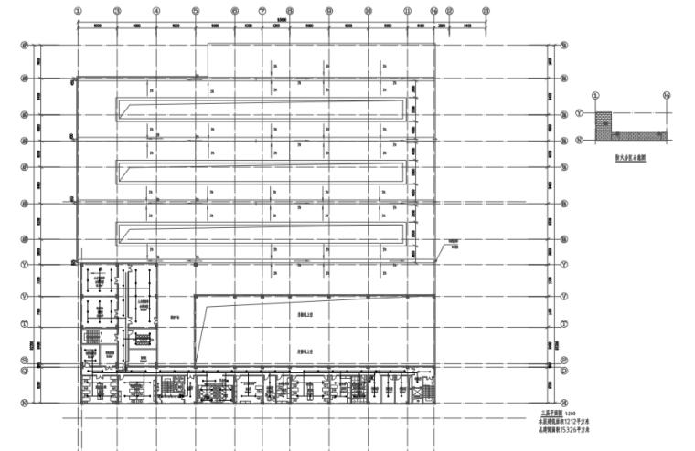 长沙大王山旅游车辆基地给排水施工图2019