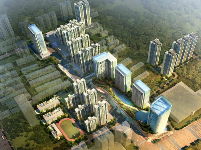 [西安]杨家村棚户区改造项目方案设计文本