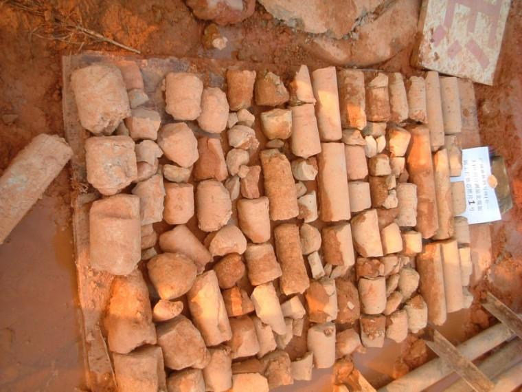 补勘岩芯的保护和标识