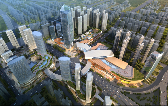 [汉阳]城市综合体规划方案汇报(图文并茂)
