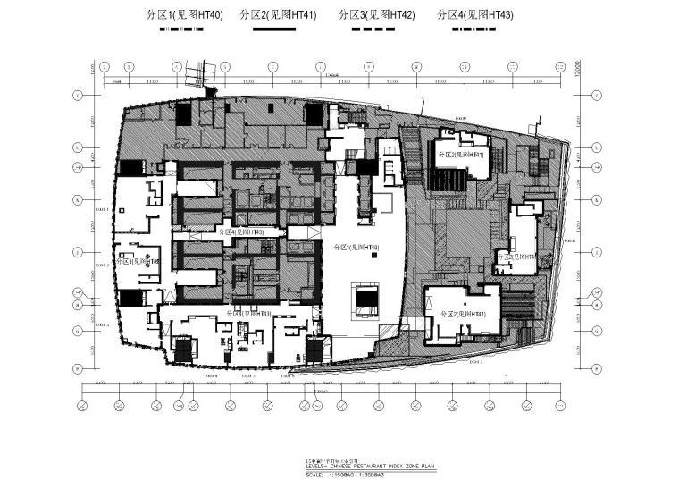 [广州]周大福金融中心L5&L6施工资料+效果图