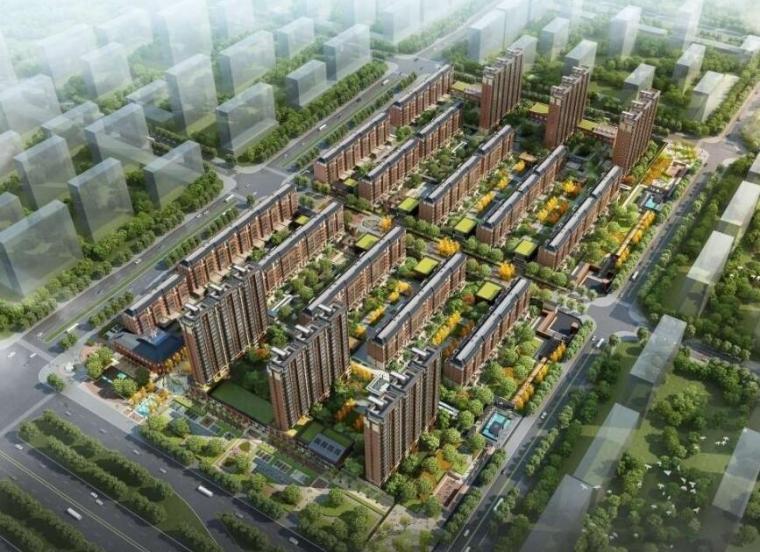 [吉林]聚业大街住宅概念设计方案