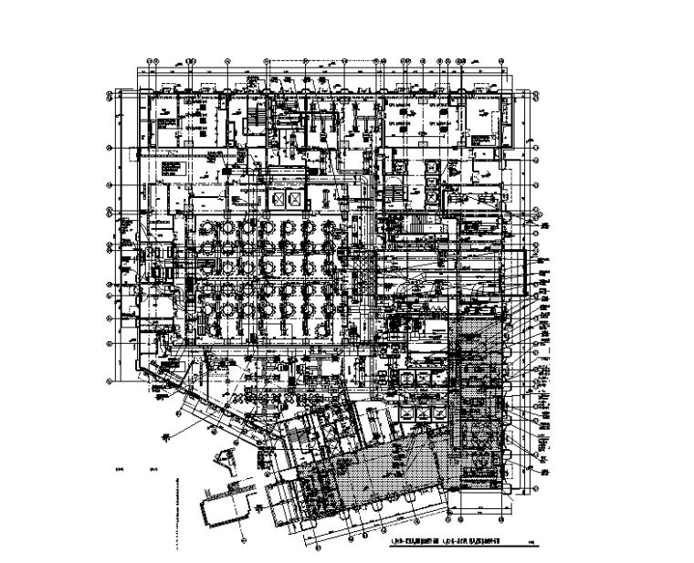 广东26层五星级酒店暖通设计施工图