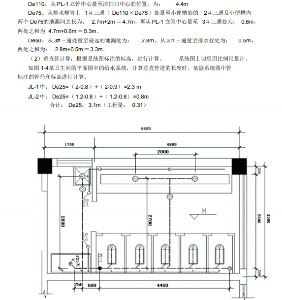 安装工程识图算量及工程造价-给排水专业3
