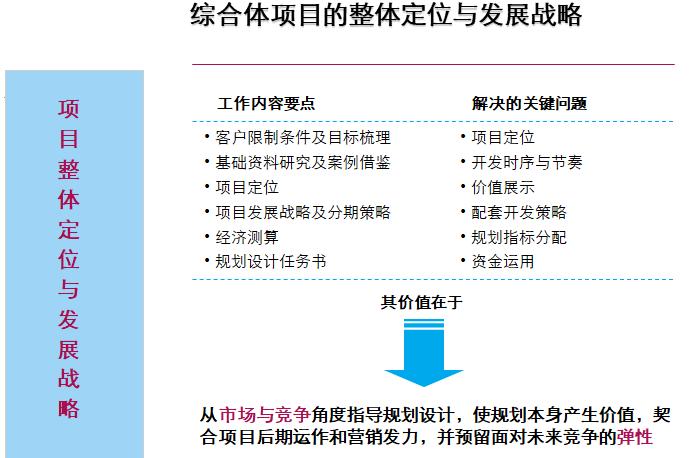 综合体项目的整体定位与发展战略