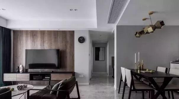120平loft装修黑白灰现代风