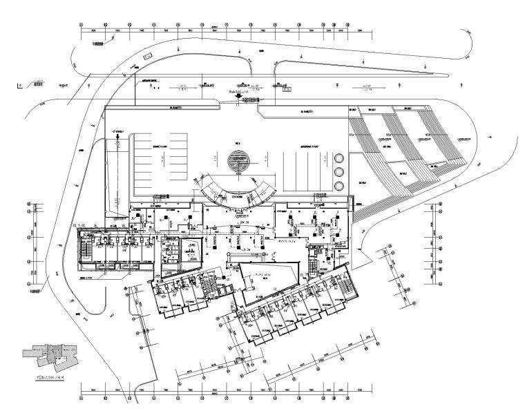 重庆办公接待中心中央空调系统设计施工图