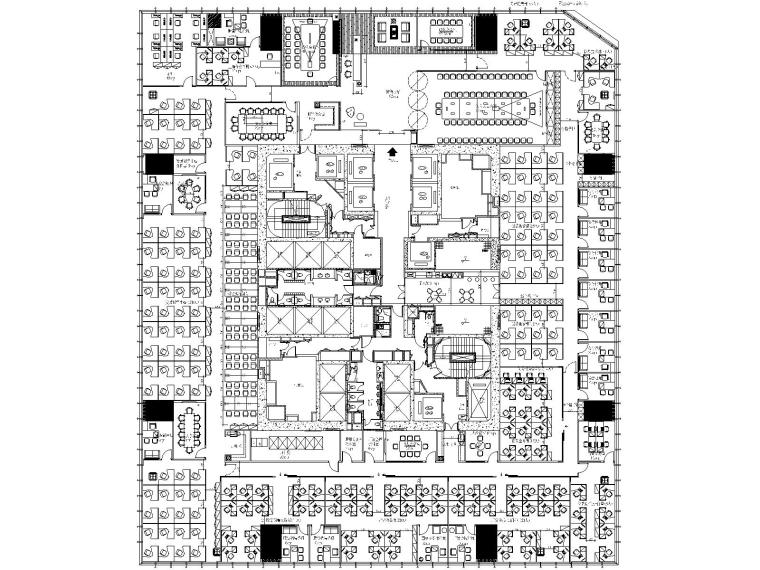 [上海]广发证券上海国金16楼办公室施工图